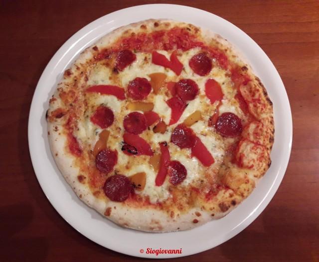 gorgonzola,peperoni,salsiccia piccante